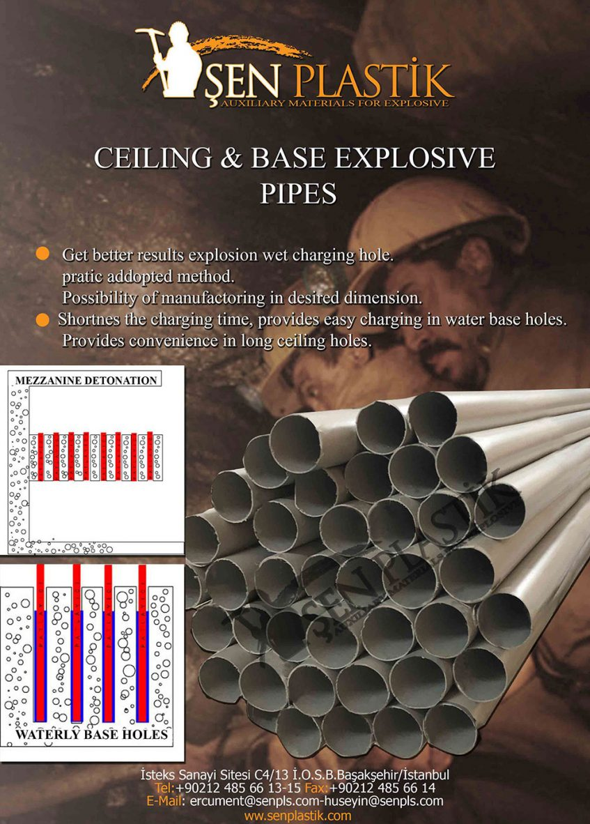 CEİLİNG&BASE-PİPES